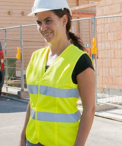 Women`s Safety Vest EN ISO 20471 in Signal Orange