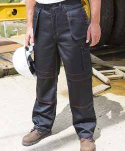 Work-Guard Lite X-Over Holster Trouser in Black